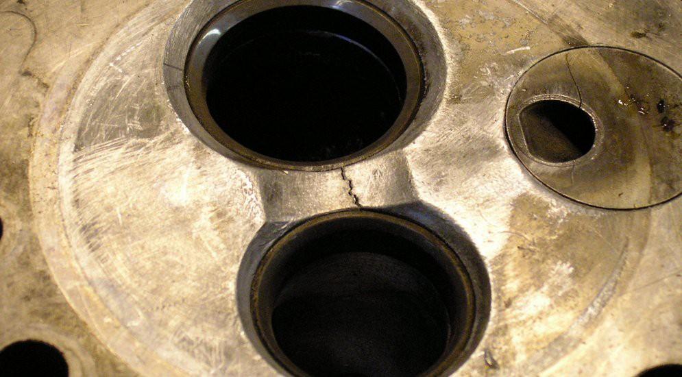 Как отремонтировать трещину в блоке цилиндров