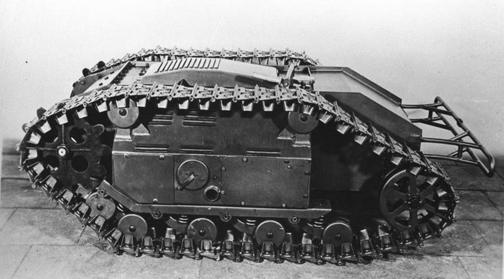 Аналогичная машина ЭТ-1-627 Гусеничная торпеда «Голиаф» Sd.Kfz.303a.jpg