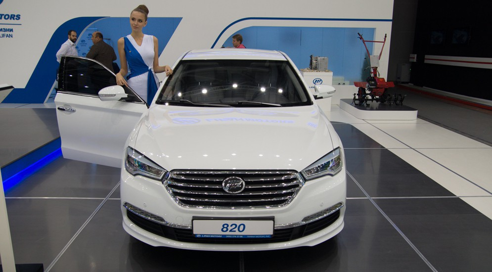 Стала известна цена на новый седан бизнес-класса Lifan 820 в Китае
