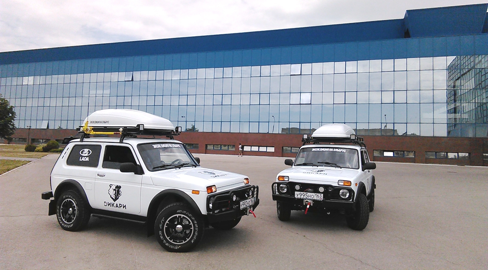 Lada 4x4 Wild Edition отправились на покорение Эльбуса