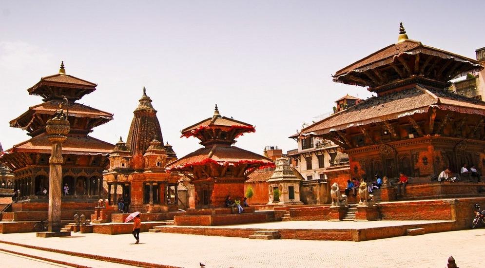 Комплекс здании на Площади Дурбар включен в список Всемирного наследия ЮНЕСКО.JPG