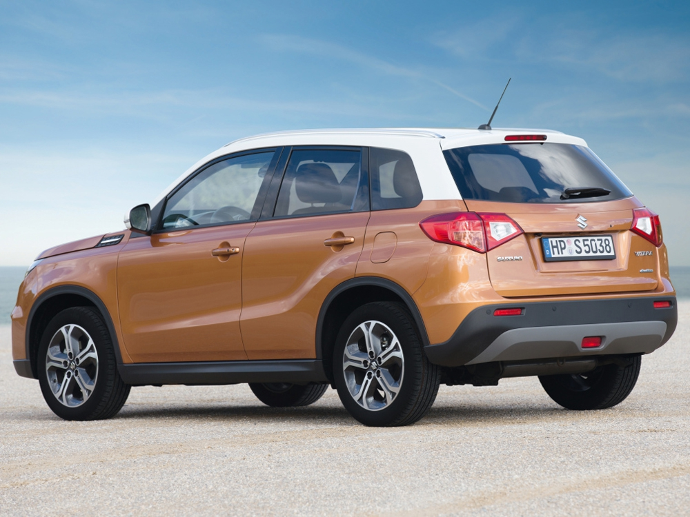Продажи Suzuki Vitara в России стартуют в августе 14