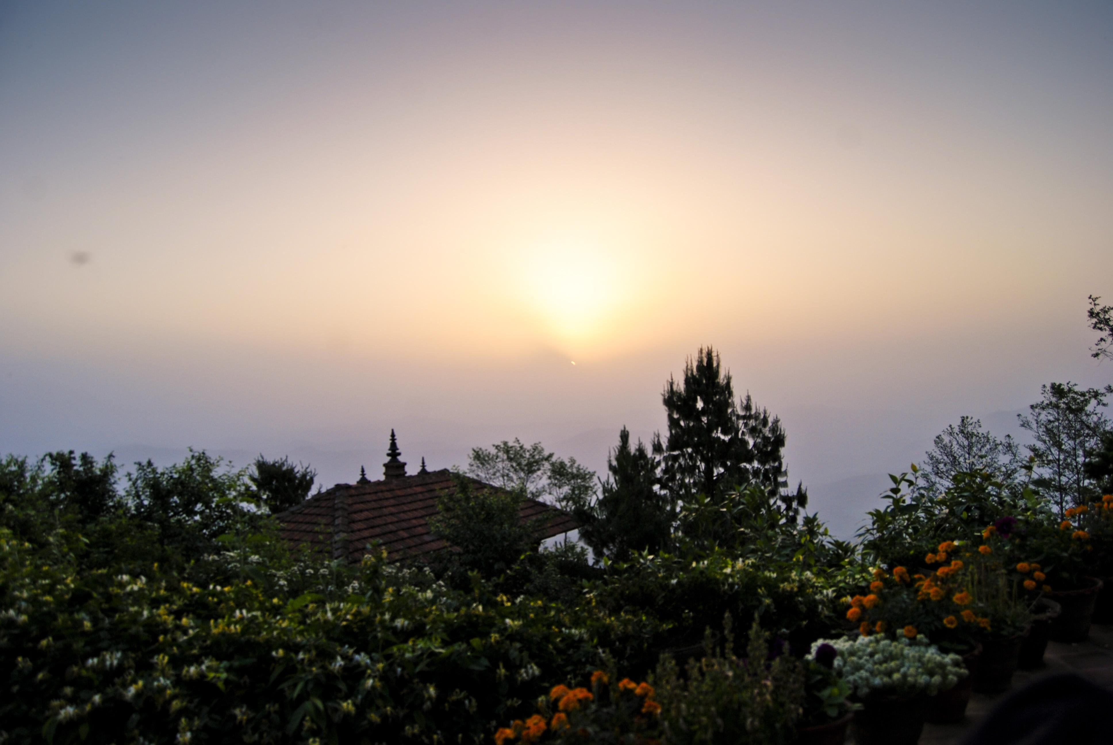 Рассвет в Нагаркоте.JPG