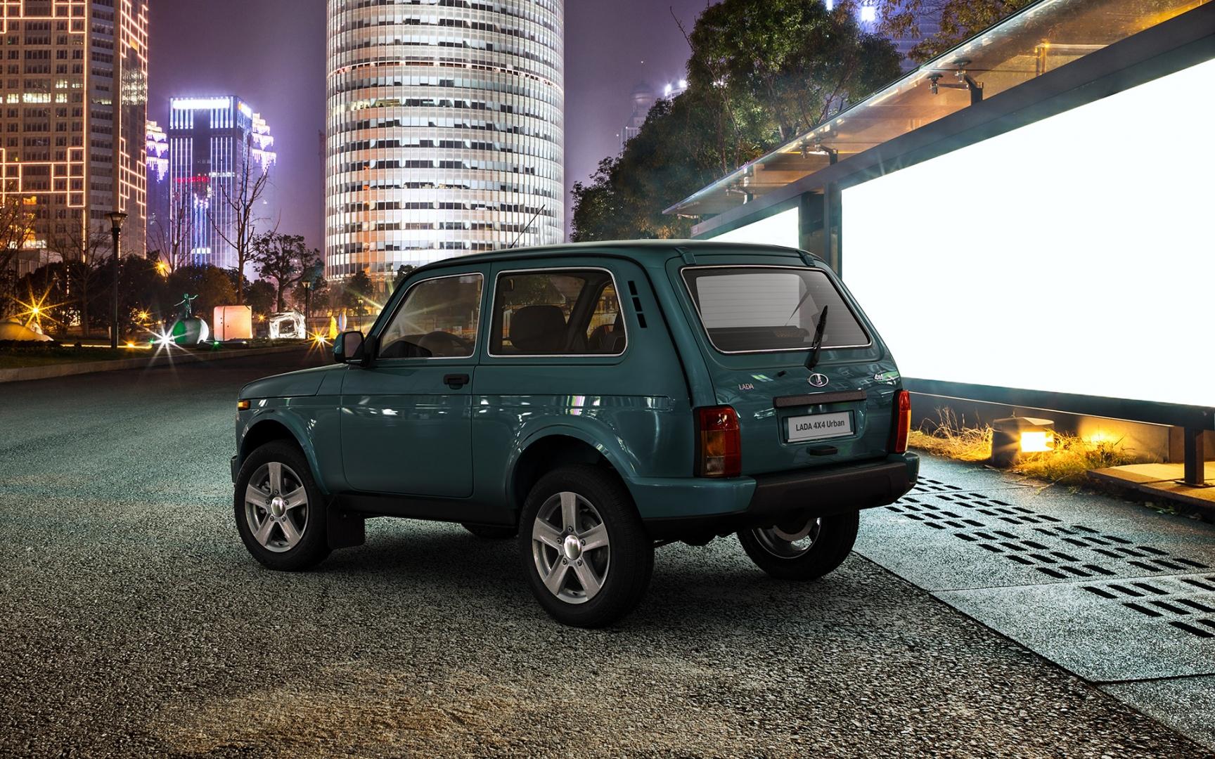 Lada 4x4 Urban заиграет новыми красками