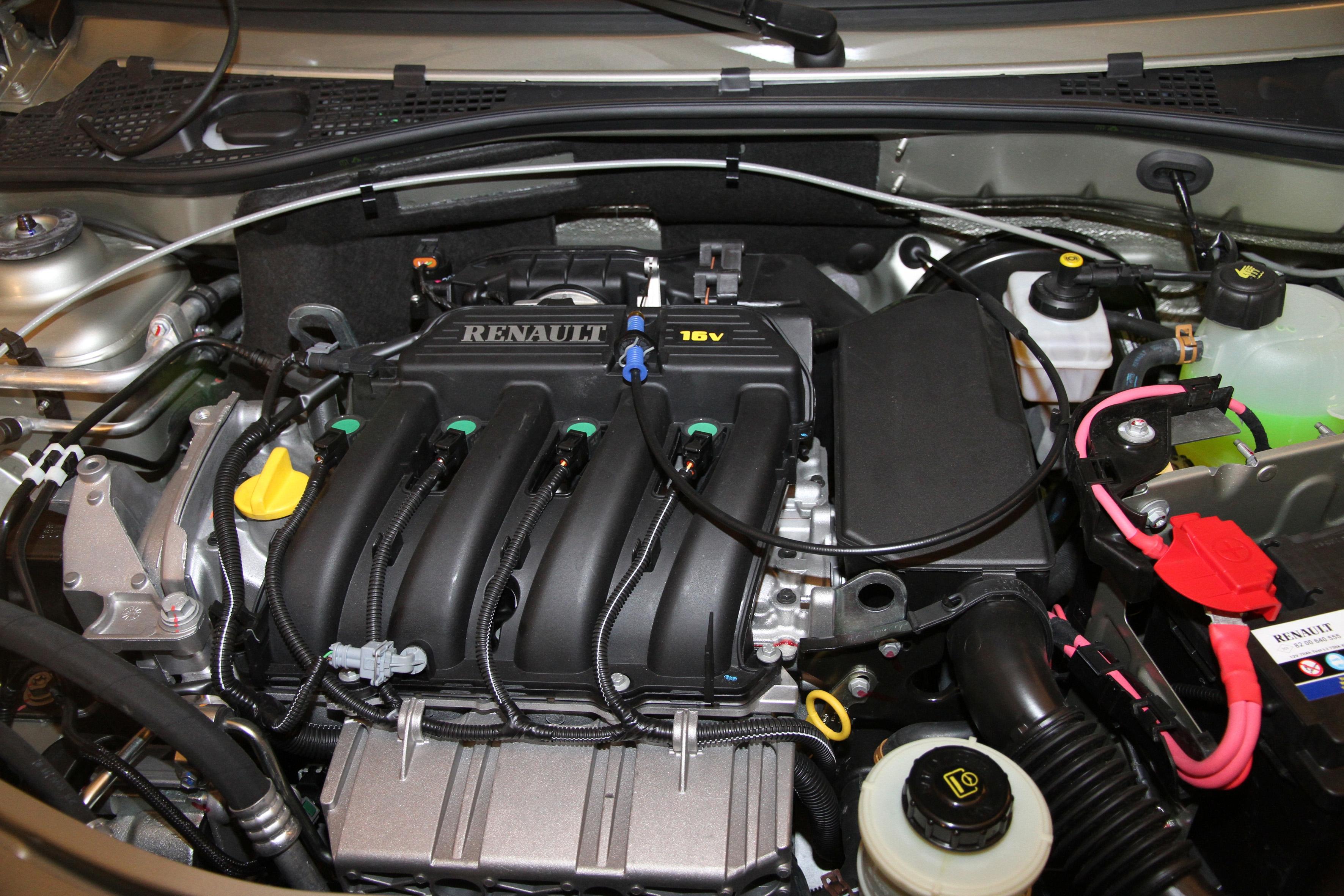 Новый двигатель на ладу ларгус