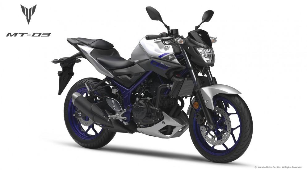 Новости мотоиндустрии: Yamaha подтвердила выпуск MT-03