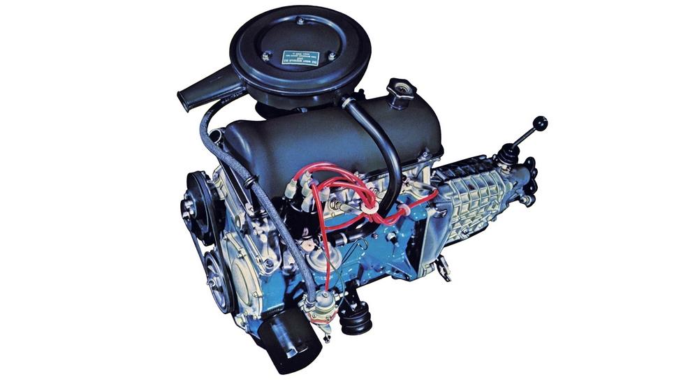 как выглядит двигатель фиат 124