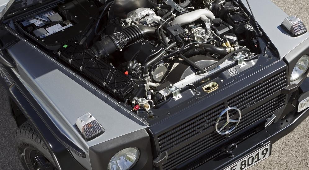 двигатель мерседес дизель 4.0 геленвагеном