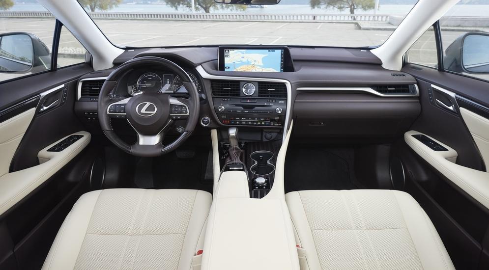 Тест-драйв нового Lexus RX 2016