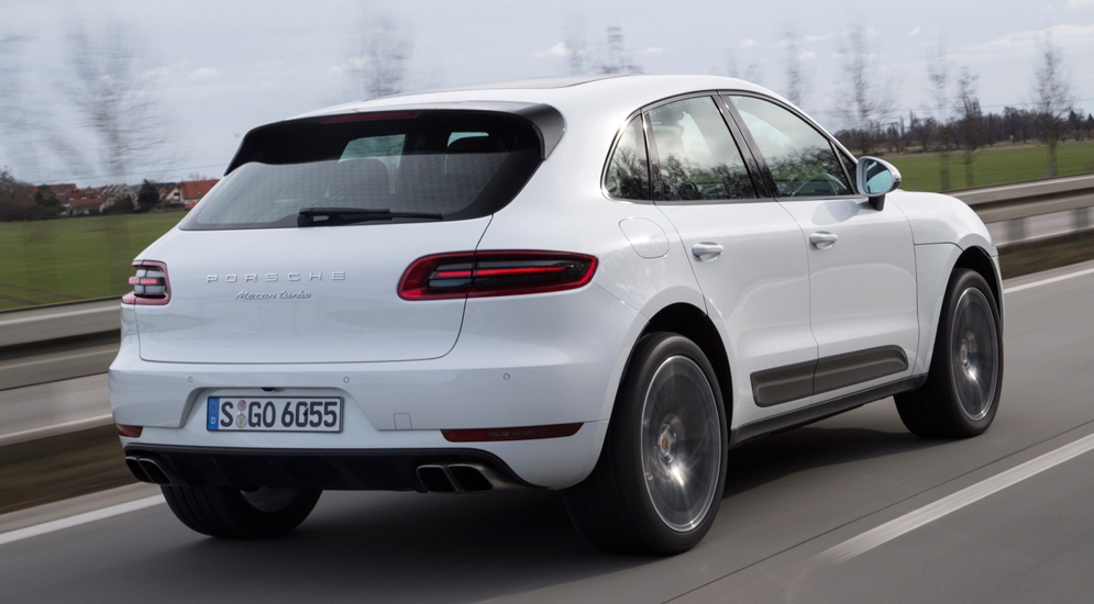 porsche macan turbo топливо