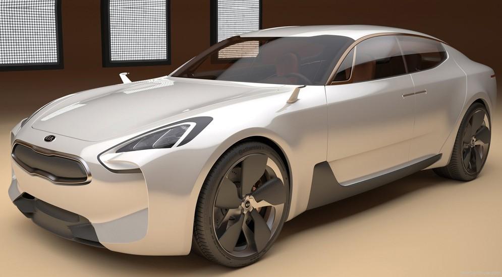 спорткар Kia GT