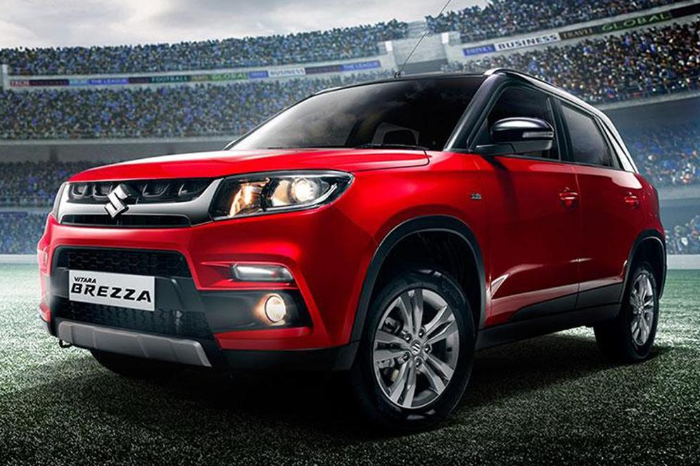 Suzuki Brezza не удержали в секрете