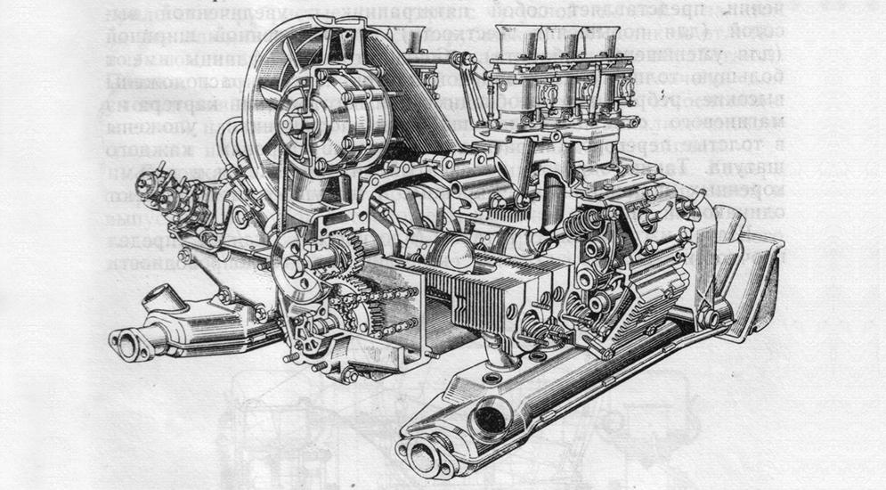 Двигатель Porsche 911.jpg