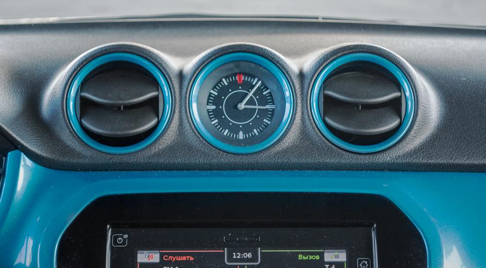 Кроссовер с бирюзовыми пуговицами: тест-драйв Suzuki Vitara