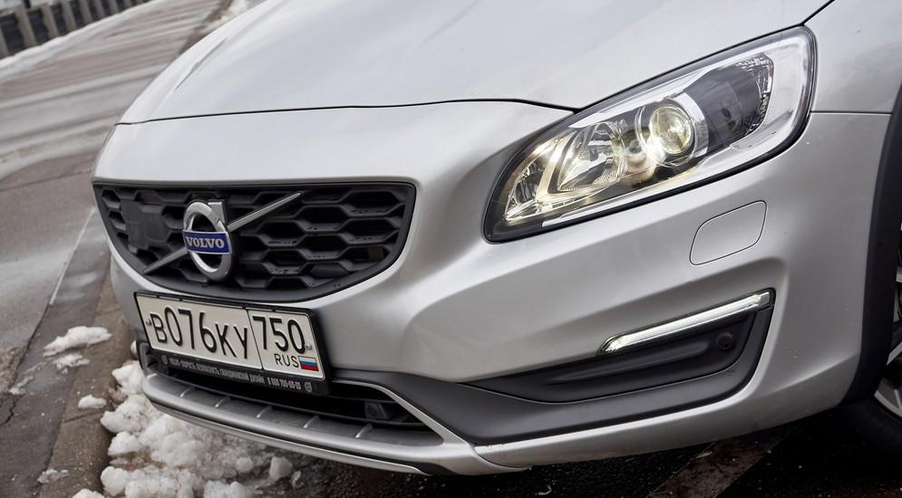 Размять рычаги: тест-драйв седана-кроссовера Volvo S60 Cross Country
