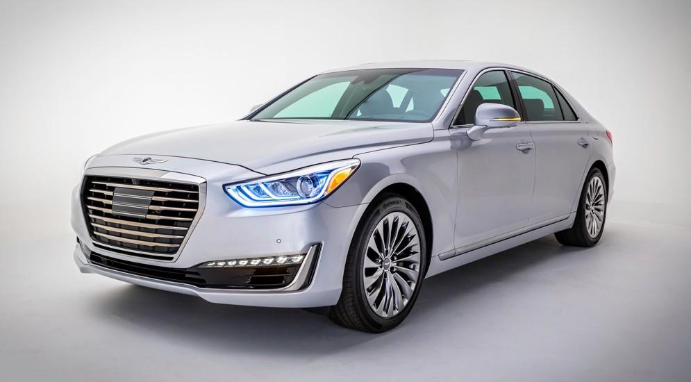 Бренд Genesis представил концептуальный автомобиль  премиального спорт-седана