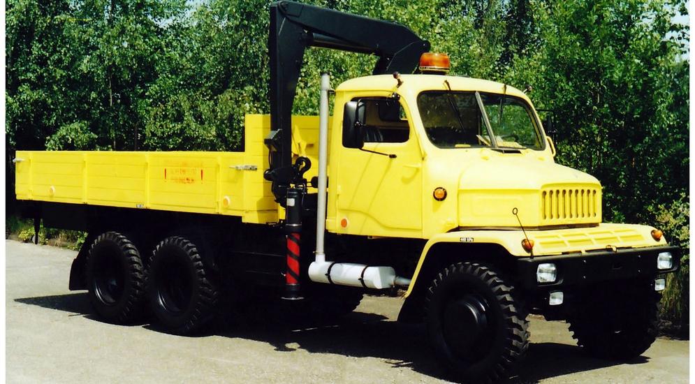 чешский дизель грузовик skoda