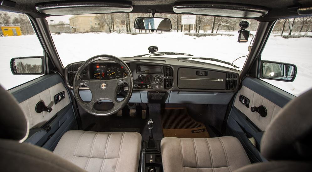 Тридцать лет, полет нормальный: тест-драйв Saab 900 OG (Сааб 900)
