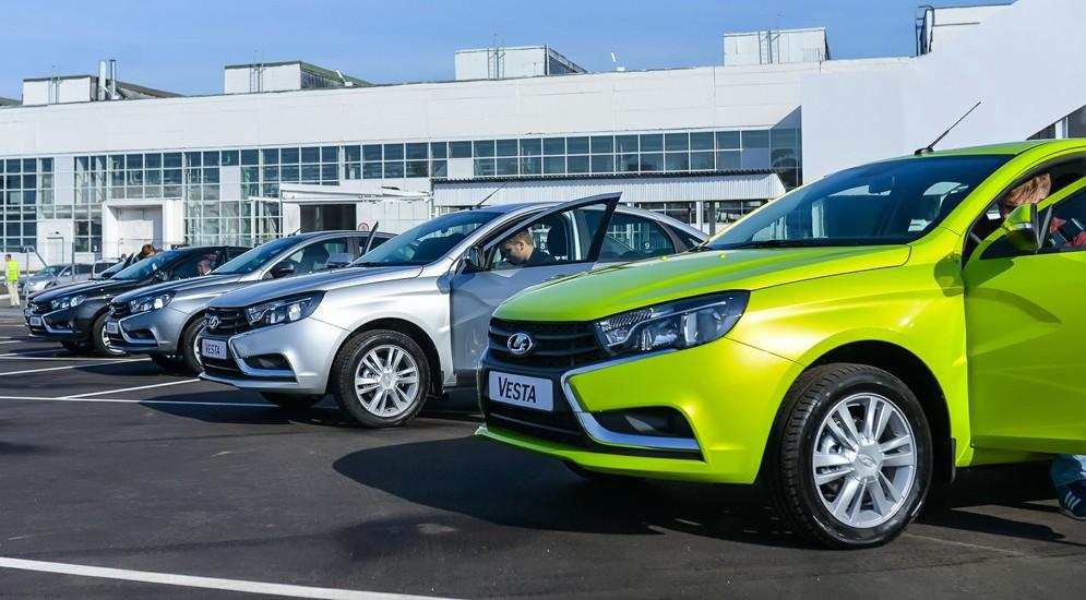 Лада Vesta вошла вчисло самых известных авто РФ