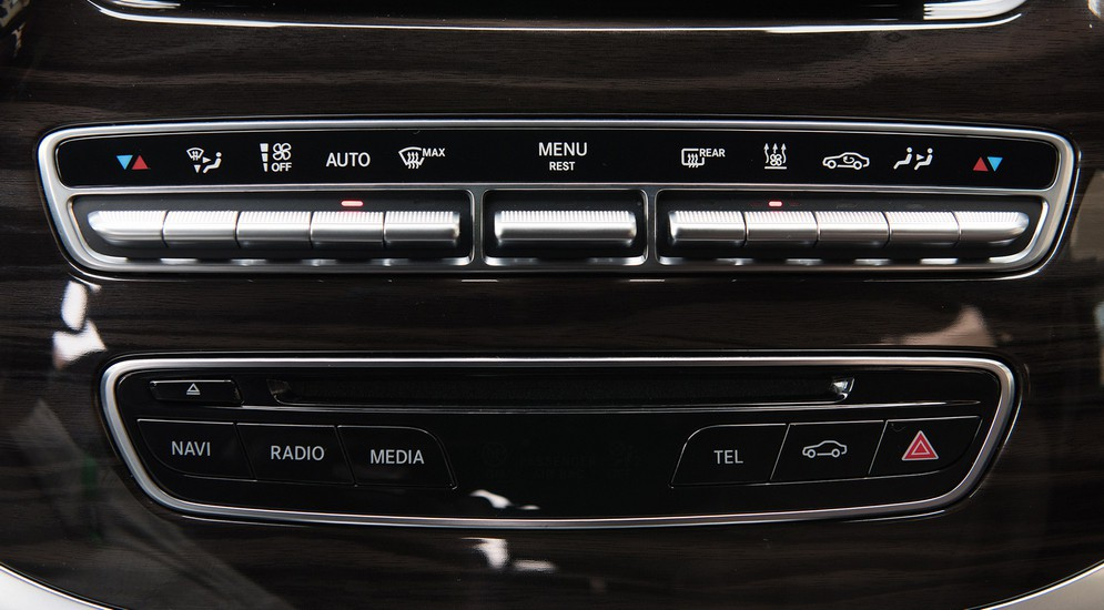 Бизнес-фитнес: тест-драйв Mercedes-Benz V250d