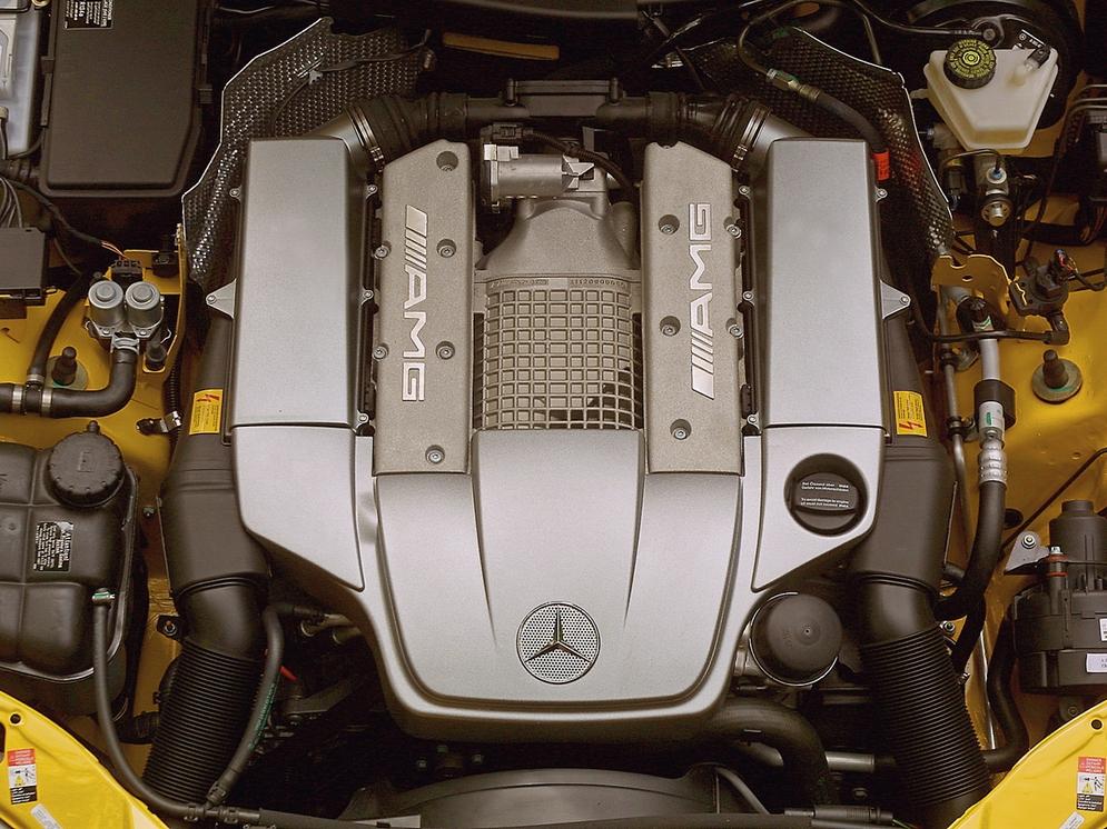 Под капотом Mercedes-Benz SLK 32 AMG US-spec (R170) '2001–04.jpg