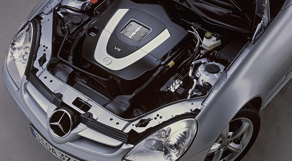 5Под капотом Mercedes-Benz SLK 350 (R171) '2004–07.jpg