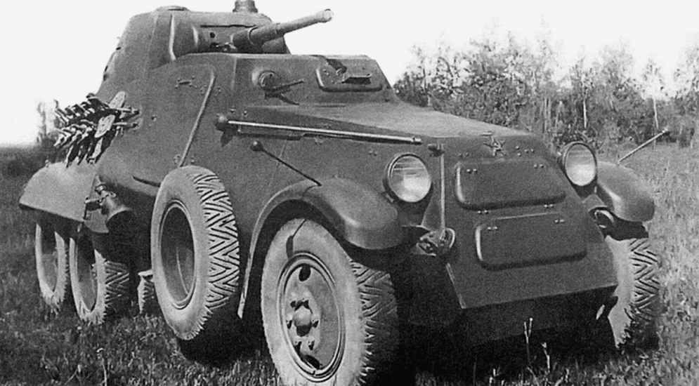 История советских бронеавтомобилей