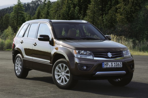 Suzuki думает над возобновлением поставок Grand Vitara в Россию