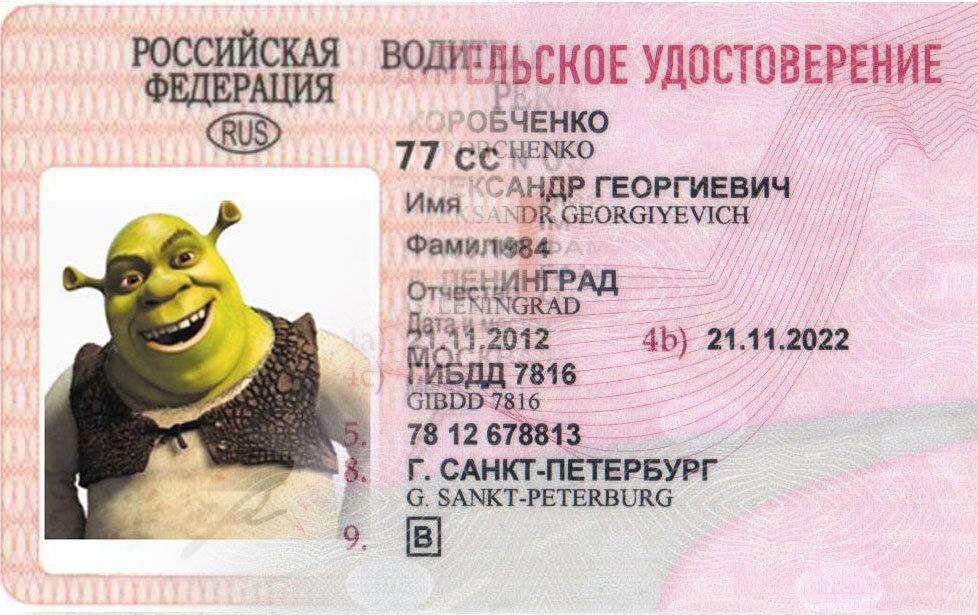 Как сделать водительские права на компьютере