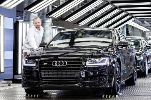 В Неккарзульме началось производство нового седана Audi A8