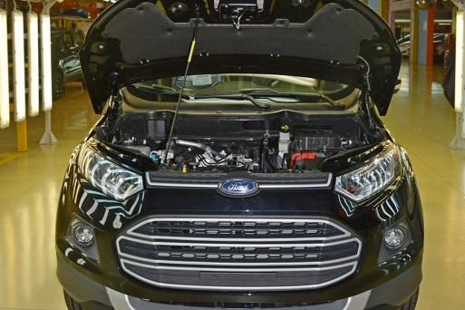 Ford EcoSport получил российский двигатель