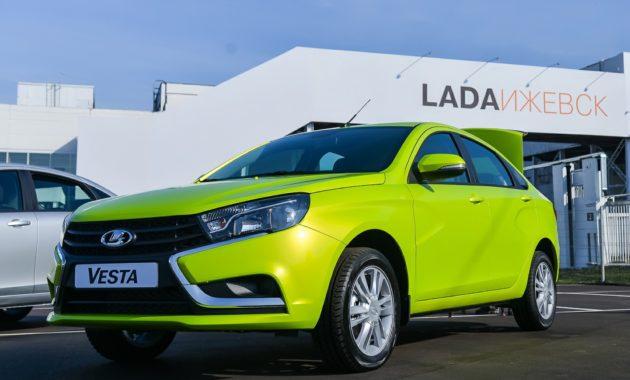 ИжАвто - пережил ребрендинг с началом выпуска Lada Vesta