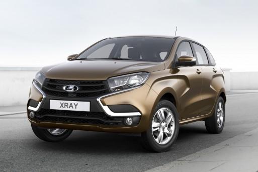 «АвтоВАЗ» начал прием заказов на кроссовер LADA XRay