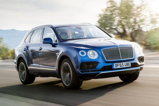 В России стартовали продажи кроссовера Bentley Bentayga