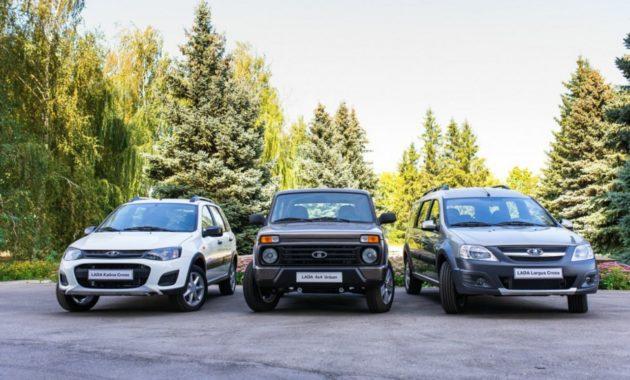 АвтоВАЗ назвал цены на кросс-версии Lada Kalina и Largus, а также на Lada 4x4 Urban
