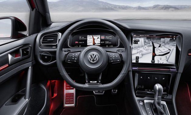 Компания Volkswagen начала избавляться от кнопок