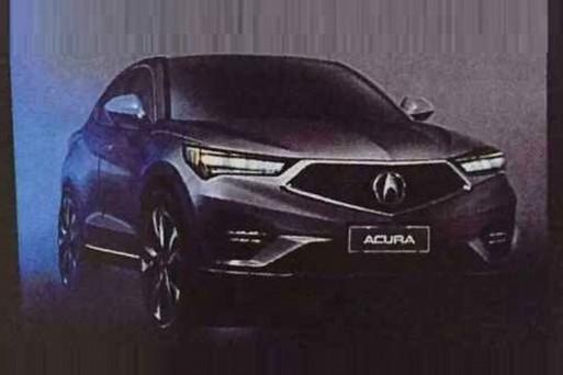 Компактный кроссовер Acura был рассекречен до официальной премьеры
