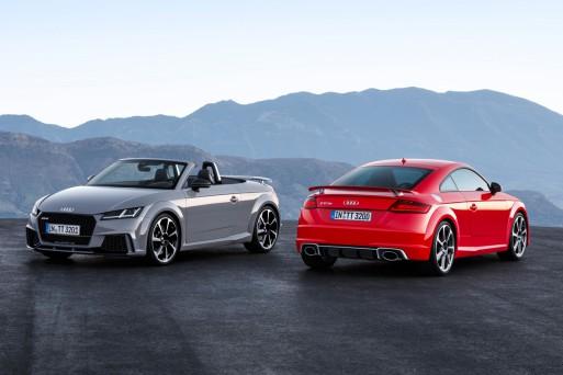 Ауди показала встолице Китая новые купе иродстерTT RS