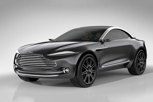 Появились подробности о первом кроссовере от Aston Martin
