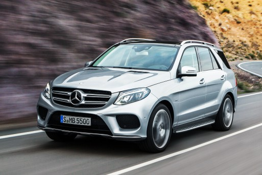 Внедорожник Mercedes-Benz GLE 500 4Matic получит более мощный двигатель и «автомат» 9G Tronic