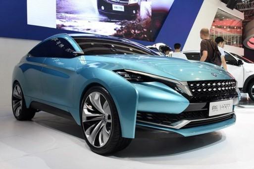 В Пекине покажут купеобразный кроссовер созданный совместно Nissan и Dongfeng