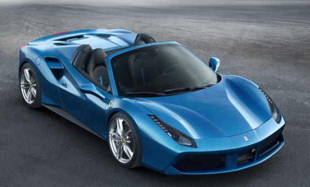 Ferrari представила самый мощный среднемоторный родстер в своей истории