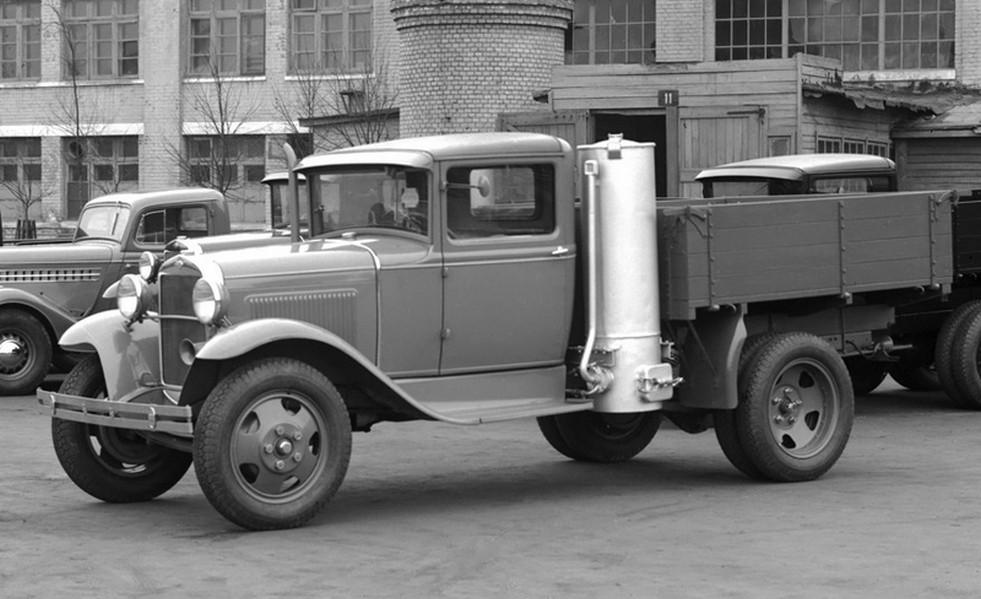 Автомобиль на дровах: как он
