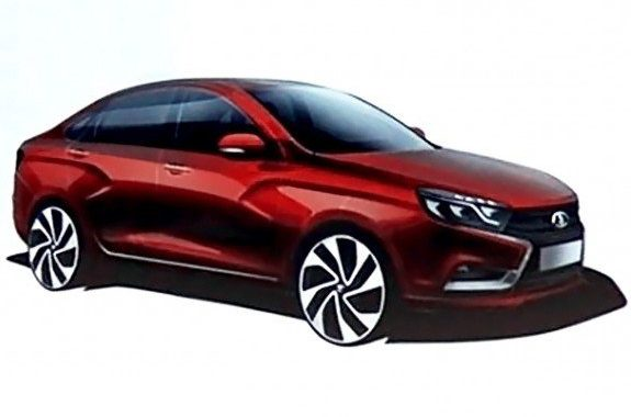 Президент АвтоВАЗа объявил новую цену Lada Vesta (Лада Веста)