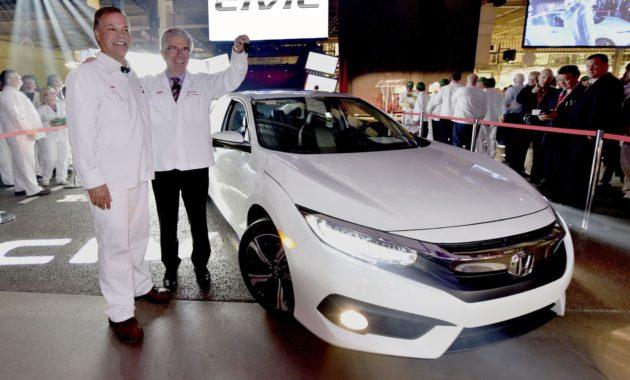 В Канаде стартовало серийное производство нового седана Honda Civic
