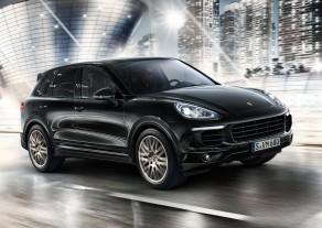 ������� ���� �� Porsche Cayenne Platinum Edition