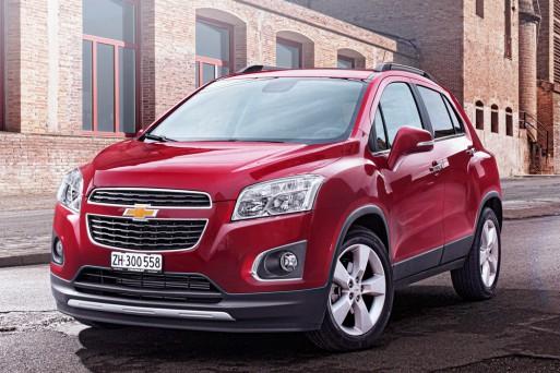 В России прекращены продажи модели Chevrolet Tracker