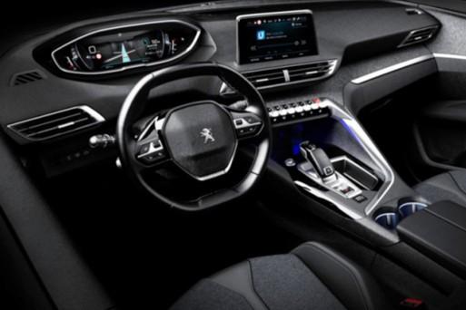 В Сети появилось изображение салона Peugeot 3008 нового поколения