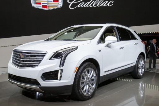 Объявлены рублёвые цены нового кроссовера Cadillac XT5
