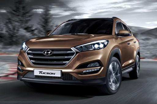 Европейская версия кроссовера Hyundai Tucson обзавелась новым мотором